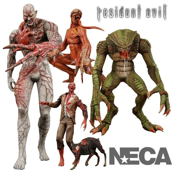 resident evil figures