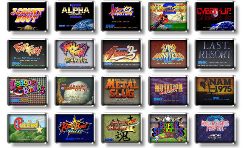 The 20 preloaded games cover a lot of what Neo Geo does best: provide a quality arcade experience.