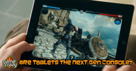 tablet console feature