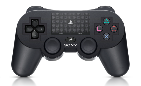 A rumored design of the new PS4 controller.