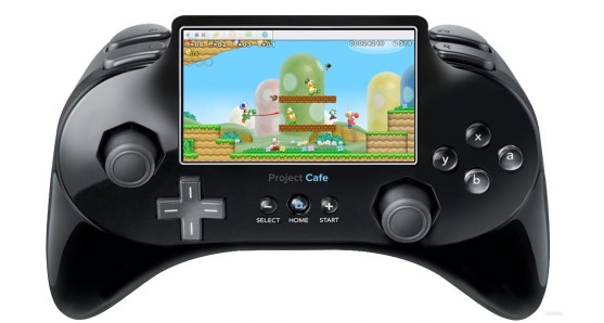 Look familiar?  This is a picture of what the Wii U controller was rumored to look like before it was released.