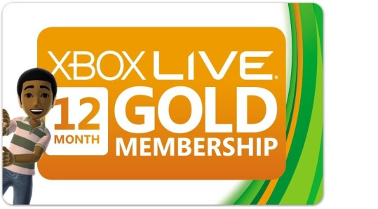 A 12-month membership to Xbox Live currently costs $59.99 in the online Microsoft Store.