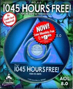 If anyone needs AOL hours, contact me on Twitter, I can hook you up.