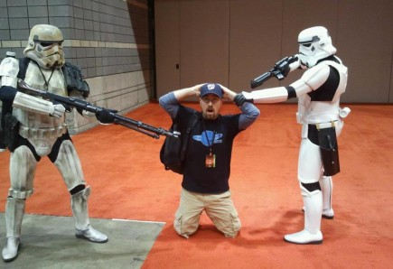 Me and a couple of my friends at C2E2 last year.