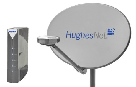 No fiberoptic in your neighborhood? You can always use satellite high-speed Internet to watch that video clip everyone's been talking about.