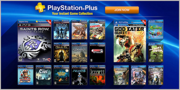 Sony's 'Instant Game Collection' gives PS Plus members AAA titles for free every month.