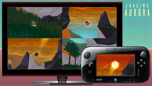 Indie games like Chasing Aurora have found a home and a following on the Wii U.