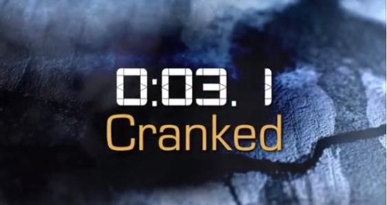 cranked