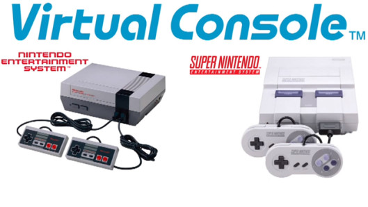 Virtual Console not only includes games from classic Nintendo platforms but also includes Genesis and Turbo Grafx 16 games as well.