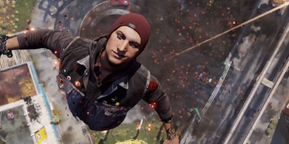 Second Son's Delsin Rowe will have plenty of room on the Playstation 4 to spread his arms and fly.